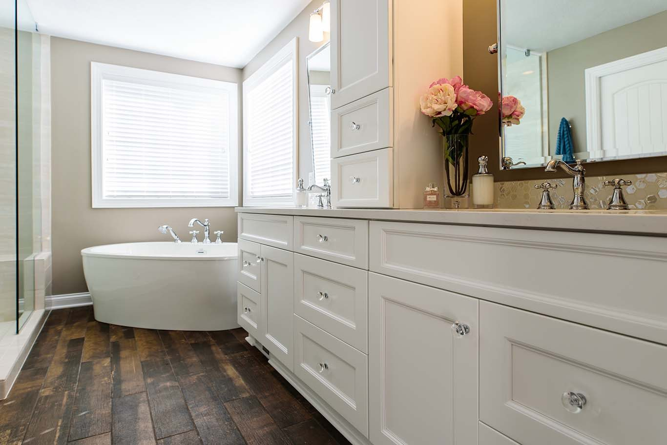 Carol   Greg s Bathroom Remodel in Hudson Ohio. Hudson Remodeling Contractor for Kitchens  Bathrooms   More