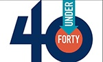 40 Over Forty - Badge